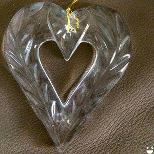 Mikasa Crystal Heart Ornament Joyous Collection